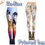 Zodiac Printed Leggings
