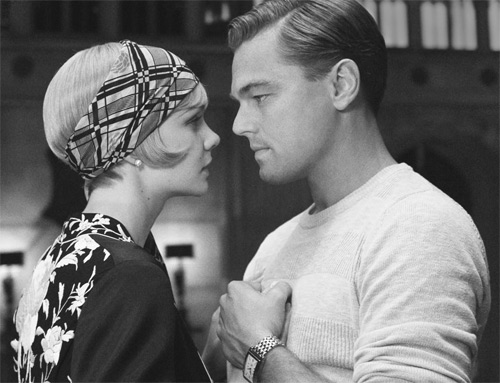 "Carey Mulligan and Leonardo DiCaprio in ""The Great Gatsby"" Copyright (c) Milestonemagz"