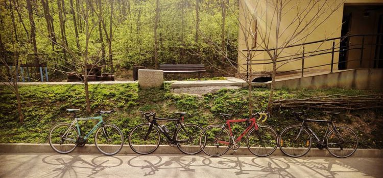 May 2017: The Bicycle Ride
